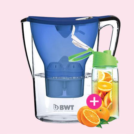 BWT Penguin vízszűrő kancsó (2.7 L, kék)