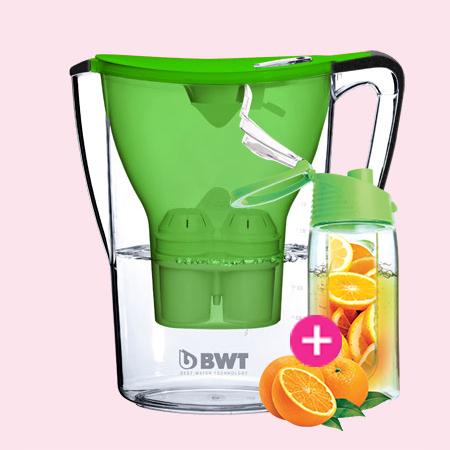 BWT Penguin vízszűrő kancsó (2.7 L, zöld)