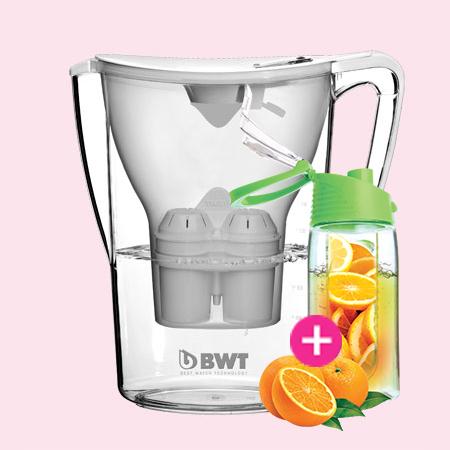 BWT Penguin vízszűrő kancsó (2.7 L, fehér)