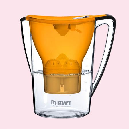 BWT Penguin vízszűrő kancsó (2.7 L, sárga)
