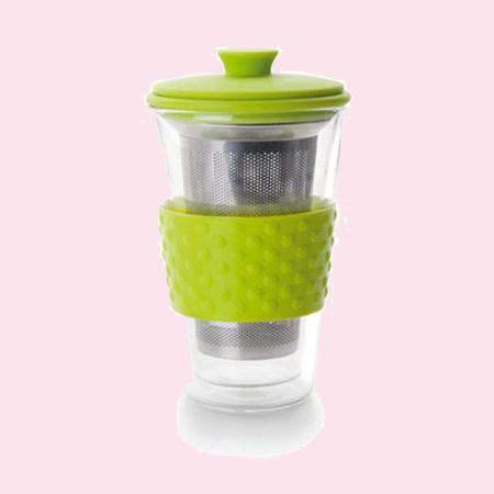 Ibili Teás pohár filterrel 250ml
