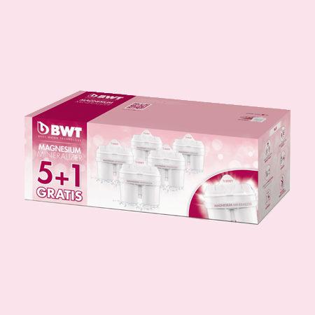 BWT Longlife Mg2+ vízszűrő betét 5+1 db