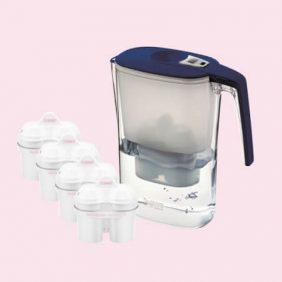 BWT Slim vízszűrő kancsó (3.6 L, kék)