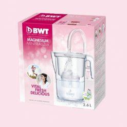 BWT Vida vízszűrő kancsó (2.6 L fehér) manuális