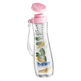 BWT TRITAN kulacs szűrővel (pink) 600 ml